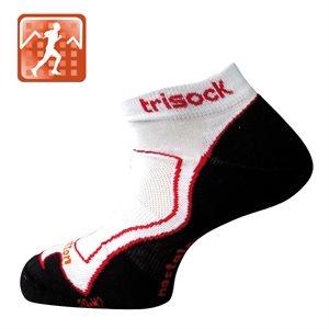 Trisock Running Socks Cotton / Nostatex White Small (35-38)
