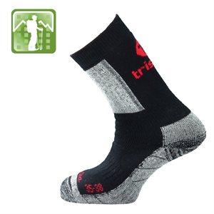 Trisock Trekking Socks Cotton / Chitin Black Large (43-46)