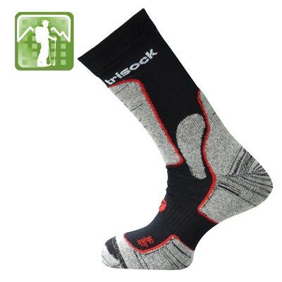 Trisock Trekking Socks Bio Cotton / Chitin Black X-Large (47-50)