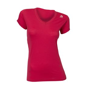 Lightwool Crew Neck Woman Persian Red X-Large