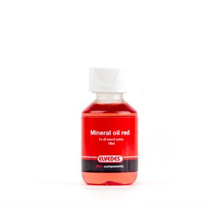Red Mineral Oil for all Mineral Systems 100ml