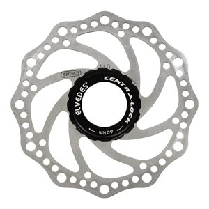 SXC14 Stainless rotor Ø140mm with centra-lock