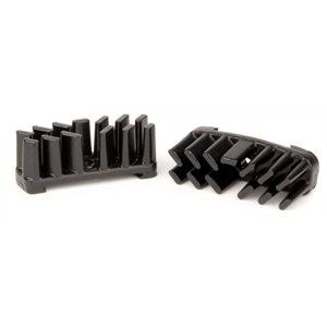 Aluminium Cooling Fins AEROSTREAM Disc Brake Pads Black