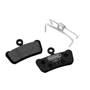 E-Bike Plaquettes de frein Métalique Carbone compatible Avid