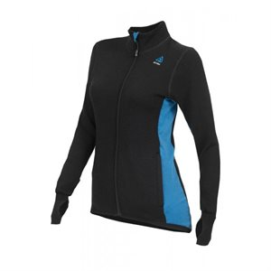 400 G Hotwool Jacket Woman Black / Blue Sapphire Medium