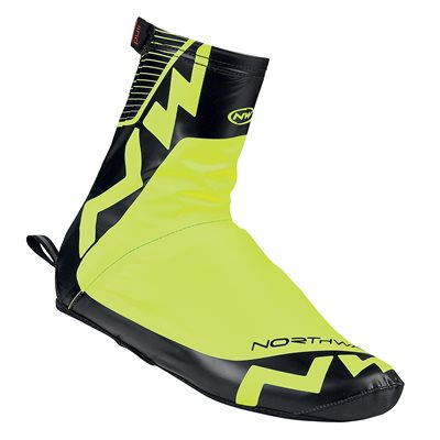 Northwave ACQUA SUMMER SHOECOVER Man Yllw Fluo / Black L
