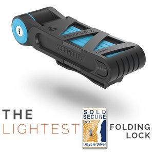 Cadenas Foldylock Compact Bleu