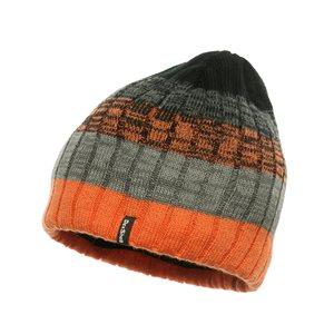 Bonnet Imperméable Dexshell Taille Unique Noir Orange Gris