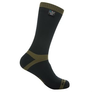 Dexshell Trekking Waterproof Socks Black / Kaki Small