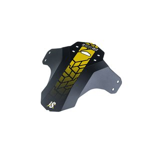 Flexible Fold / Flat Front Utah 1 Fender For Fork 8 Tie Wraps Lemon Print
