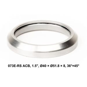 "High precision sealed Headset Bearing Type MR127 1,5"" Ø40×Ø51,8×8 36°×45°"