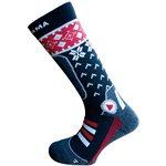 Enforma Ski Cross Socks Grey / Red 45 / 47