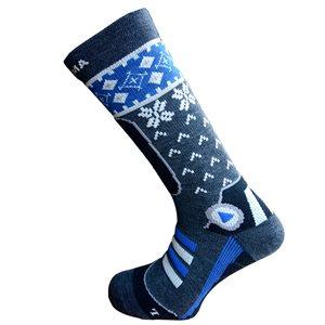 Enforma Ski Cross Socks Grey / Bleu 39 / 41