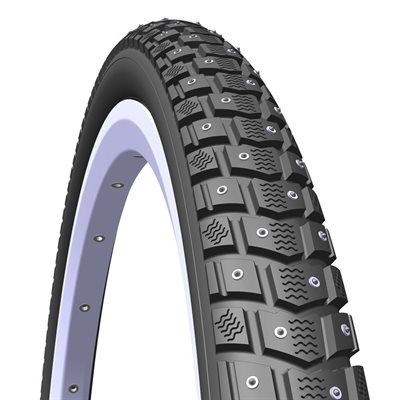 Mitas Froster black tire classic SMC puncture (APS) + REFLEX (RS) 120 Studs 26x1,75x2