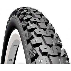 Mitas Gripper Black Ice Tire 700 X 40C Classic Smc 272 Studs Antipuncture (Aps) + Reflex (Rs)