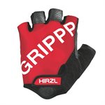 Hirzl Cycling Gloves Short Finger Black / Red X- Small (6)
