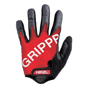 Hirzl Cycling Gloves Full Finger Black / Red Small (7)