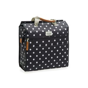 Lilly Panier 18 L Polka Dots Black And White