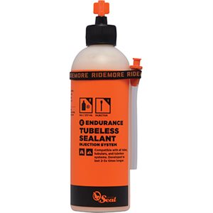 Scellant à pneu Endurance Orange Seal Cycling Recharge 8 oz / 236 ml buse d'injection type Twist lock
