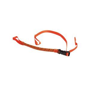 "Commuter Stretch Strap 1 / 2 X 12"" To 28"" Orange"