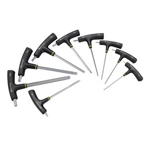 T-Bar Set with Wrenches 9pcs per set.
