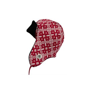 Hotwool Polar Cap Red Chili Pepper And White Pattern Large