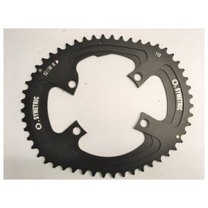 OsymetricChainring 110Mm Comp. Dura-Ace FC9000 / Ultegra FC6800 4 Bolts 52T